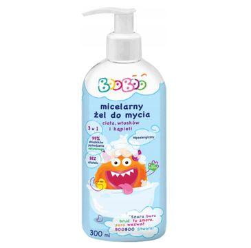 BOOBOO Micelarny żel do mycia ciała włosów i kąpieli (300 ml)