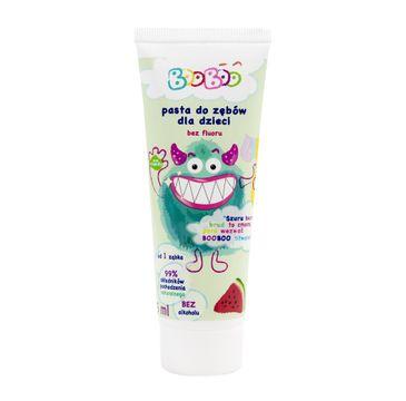 BOOBOO Pasta do mycia zębów dla dzieci bez fluoru Arbuz (75 ml)