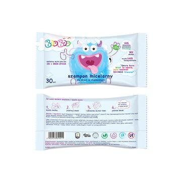 BOOBOO Szampon micelarny dla dzieci w chusteczkach (30 szt.)