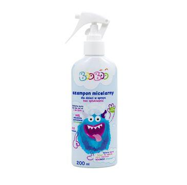 BOOBOO Szampon micelarny dla dzieci w sprayu bez spłukiwania (200 ml)