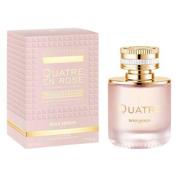 Boucheron Quatre En Rose Florale woda perfumowana spray 50ml