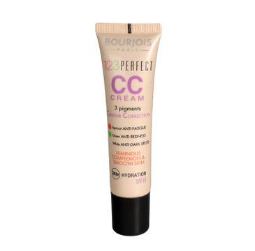 Bourjois 123 Perfect CC Cream krem CC z 3 pigmentami korygującymi 33 Rose Beige 30ml