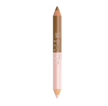 Bourjois Brow Duo Sculpt Brow Pencil & Highlighter kredka i rozświetlacz do brwi 21 Blond 3g