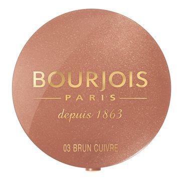 Bourjois Pastel Joues róż do policzków Brun Cuivre nr 03 2,5 g