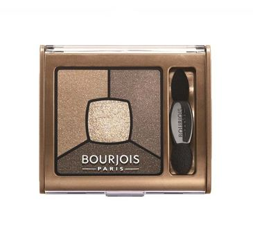Bourjois Smoky Stories Quad Eyeshadow Palette cienie do powiek 06 Upside Brown 3,2g