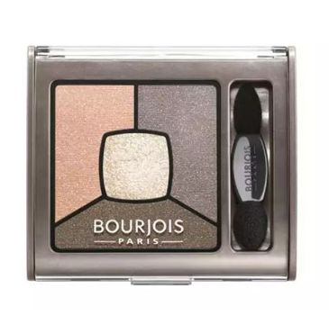 Bourjois Smoky Stories Quad Eyeshadow Palette cienie do powiek 12 Saumondaine 3,2g