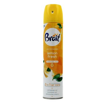 Brait Air Care 3in1 Odświeżacz powietrza klasyczny Lemon Fresh 300 ml