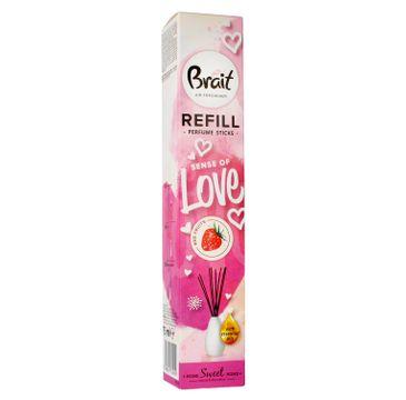 Brait Home Sweet Home Patyczki odświeżające Sense Of Love - Red Fruits 75 ml zapas