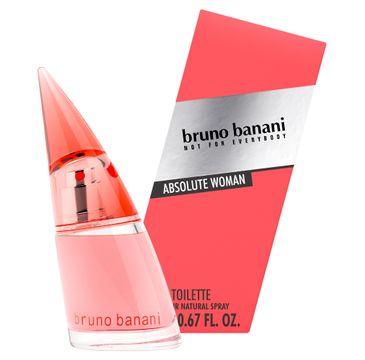 Bruno Banani Absolute Woman woda toaletowa dla kobiet 20 ml