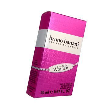 Bruno Banani Made For Women woda toaletowa dla kobiet 20 ml