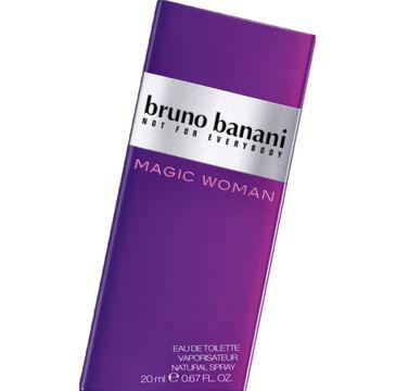 Bruno Banani Magic Woman woda toaletowa dla kobiet 20 ml