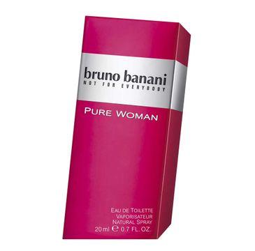 Bruno Banani Pure Woman woda toaletowa dla kobiet 20 ml