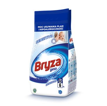 Bryza Lanza Sensitive proszek do prania hipoalergiczny do bieli i koloru 6kg