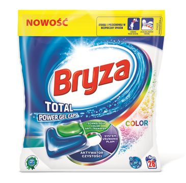 Bryza Lanza Total Power Gel Caps Spring Freshness kapsułki do prania do koloru 28szt