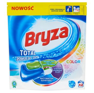 Bryza Lanza Total Power Gel Caps Spring Freshness kapsułki do prania do koloru 42szt