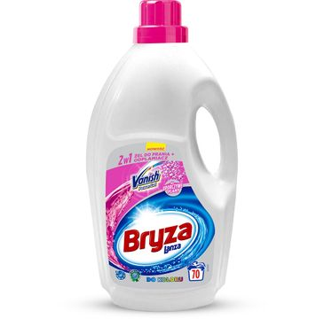 Bryza Lanza Vanish Power Gel 2w1 żel do prania i odplamiacz do koloru 4,62l