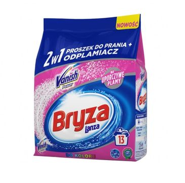 Bryza Lanza Vanish Ultra Color 2w1 proszek do prania i odplamiacz do koloru 1kg