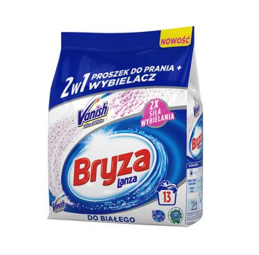 Bryza Lanza Vanish Ultra White 2w1 proszek do prania i wybielacz do bieli 1kg