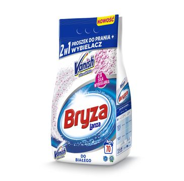 Bryza Lanza Vanish Ultra White 2w1 proszek do prania i wybielacz do bieli 5,25kg