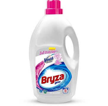 Bryza Lanza Vanish Ultra White 2w1 żel do prania i odplamiacz do bieli 4,62l