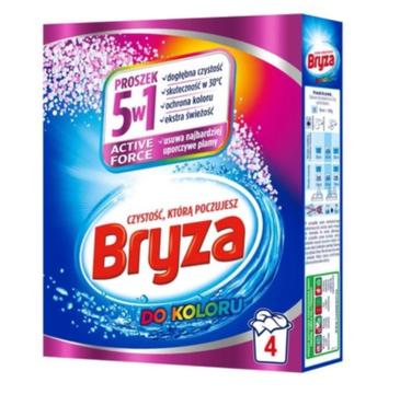Bryza Active Force 5w1 proszek do prania tkanin kolorowych (260 g)