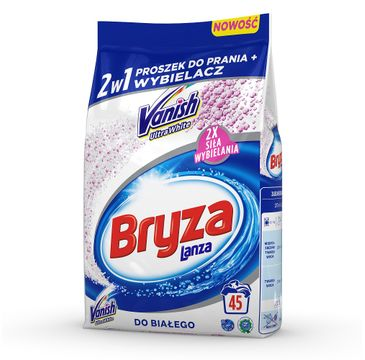 Bryza Vanish Ultra 2w1 proszek do prania i odplamiacz do bieli 3,375 kg