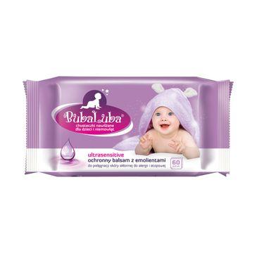 BubaLuba Chusteczki nawilżane dla dzieci i niemowląt Ultrasensitive (60 szt.)