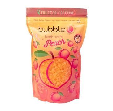 Bubble T – Bath Salts sól do kąpieli Peach (500 g)