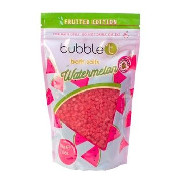 Bubble T – Bath Salts sól do kąpieli Watermelon (500 g)