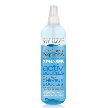 Byphasse Activ Boucles ekspresowa odżywka w sprayu do włosów kręconych (400 ml)