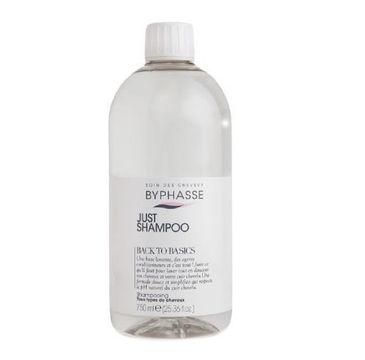 Byphasse Just Shampoo szampon do wszystkich rodzajów włosów (750 ml)