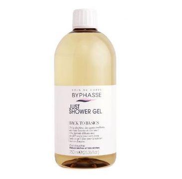 Byphasse Just Shower Gel żel pod prysznic do suchej i bardzo suchej skóry (750 ml)