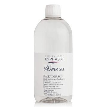 Byphasse Just Shower Gel żel pod prysznic do wszystkich rodzajów skóry (750 ml)
