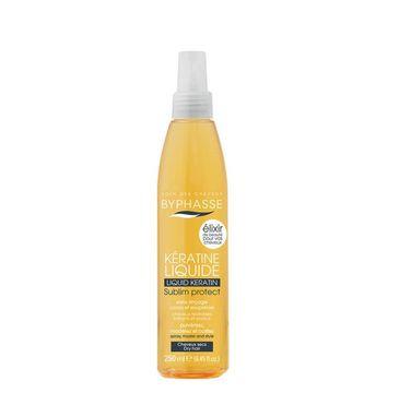 Byphasse Keratin Liquid mgiełka do włosów z keratyną spray 250ml