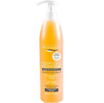 Byphasse Keratin Shampoo szampon do włosów z keratyną 520ml