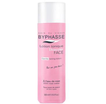 Byphasse Lotion tonique Douceur Face różany tonik do twarzy 500ml