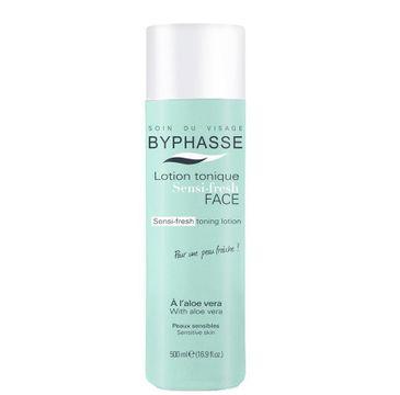 Byphasse Lotion tonique Sensi-Fresh tonik do twarzy z wyciągiem z aloesu 500ml