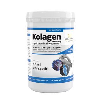 Noble Health – Premium Wellness kolagen w proszku + glukozamina i witamina C (100 g)