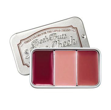Skinfood – Fresh Fruit Lip & Cheek koloryzujący tint do ust i policzków 6 (3 x 2.5 g)