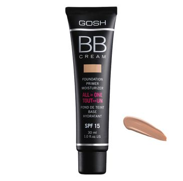 Gosh BB Cream All In One (wielofunkcyjny krem BB SPF 15 03 Warm Beige 30 ml)