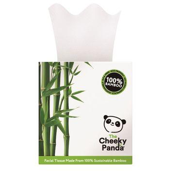 The Cheeky Panda – Bamboo Facial Tissue bambusowe chusteczki uniwersalne pudełko kostka (56 szt.)