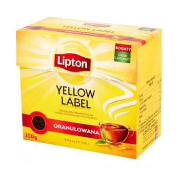 Lipton Yellow Label herbata czarna granulowana 100g