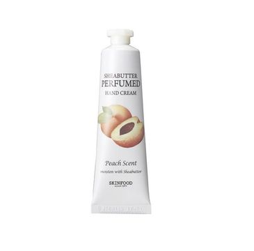 Skinfood – Shea Butter Perfumed Hand Cream Peach krem do rąk o zapachu brzoskwini (30 ml)