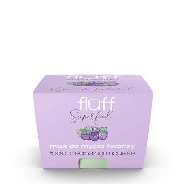 Fluff Facial Cleansing Mousse – mus do mycia twarzy Leśne Jagody (50 ml)
