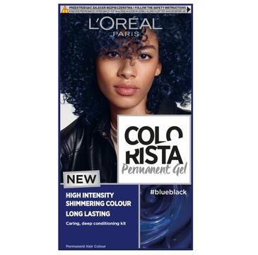 L'Oreal Paris Colorista Premament Gel – farba do włosów #blueblack (1 szt.)