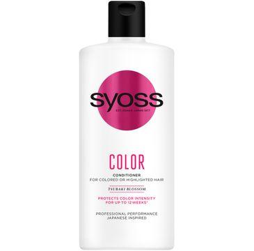 Syoss – Color Conditioner odżywka do włosów farbowanych i rozjaśnianych (440 ml)