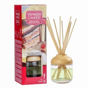 Yankee Candle Reed Diffuser pałeczki zapachowe z dyfuzorem Sparkling Cinnamon 120ml