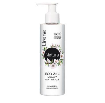 Lirene Natura Eco – żel myjący do twarzy Biała Herbata (150 ml)