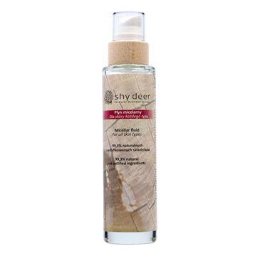 Shy Deer – Micellar Fluid płyn micelarny w szklanym opakowaniu do każdego typu skóry (200 ml)