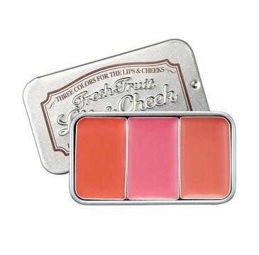 Skinfood – Fresh Fruit Lip & Cheek koloryzujący tint do ust i policzków 5 (3 x 2.5 g)